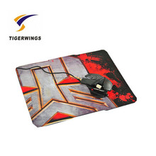 Tigerwingspad high quality fashion unique printable rubber mouse pad