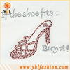 Red rhinestone chains for wedding shoes boots decoration