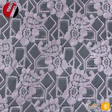 Jacquard Clothing Broad Net Swiss Cotton Lace Fabric