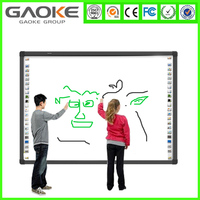 high resolution portable finger touch gloview 3d touch interactive whiteboard