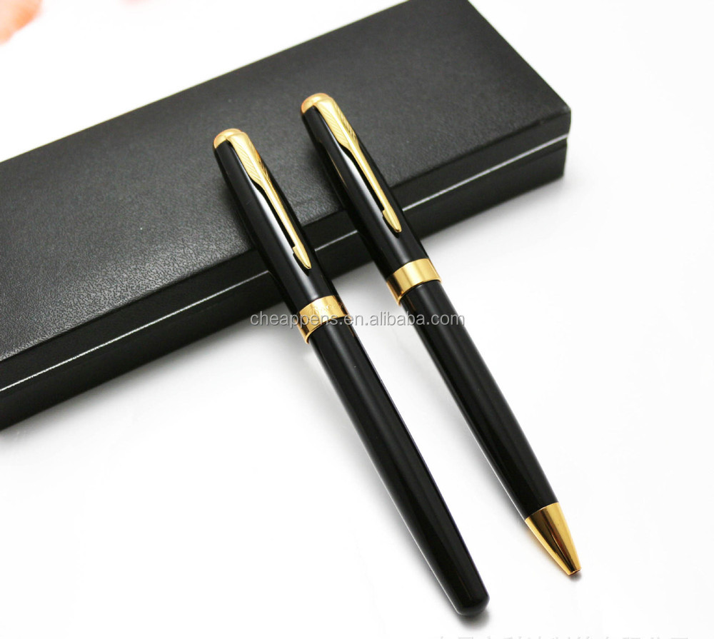 sleek oem metal pen ballpoint and roller set