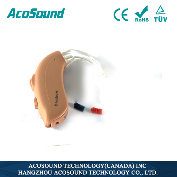 Hot selling AcoSound Acomate 420 BTE non-programmable cheap hearing aid digital hearing aid accessories