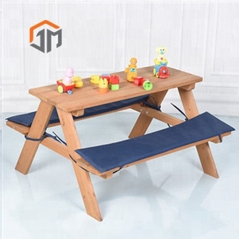 Wholesale Baby Cheap Kids Tables Chairs Outdoor Picnic Table Set