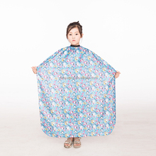 Cheap price popular fashion style 2017 new design top selling children/kid barber cape