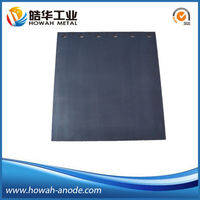 lead dioxide Coating Titanium Anode for hospital waste water treatment
