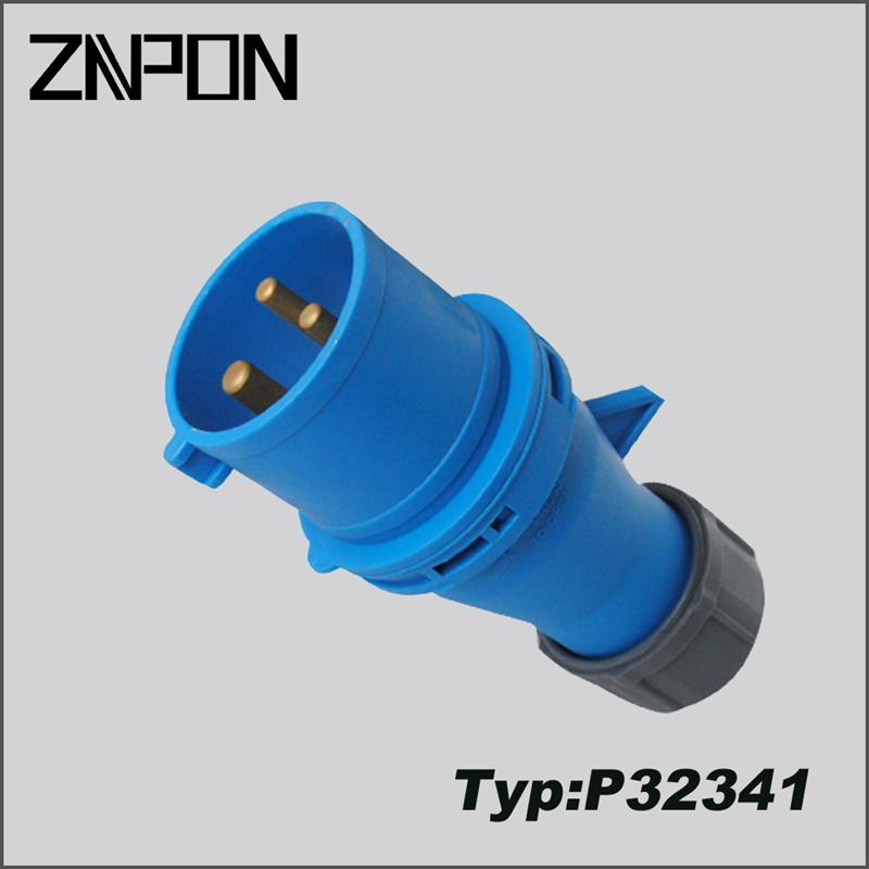 220V industrial socket and plug ip44 ip67 made in China P32341