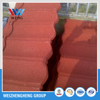 Cheap Colorful Corrugated Metal Sheet/China quality stone coated steel roofing panels/Sand Stone Coated Copper Roof