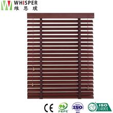 Modern style home center rubber outdoor smart blinds and shutters blackout shades venetian wooden japanese window blinds