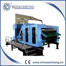 Top level polyester fiber carding machinery-single cylinder&double doffer