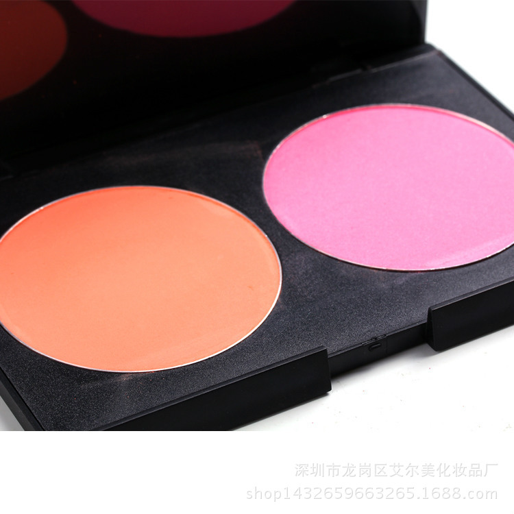 High quality Custom Color Makeup 2 color beauty cosmetic cream blush cosmetics blusher