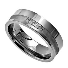 Yiwu Aceon Purity Original Scripture Women's Stainless Steel Band Ring