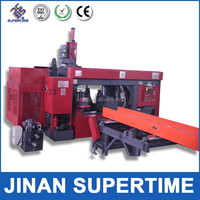 CNC beam line machinery / CNC beam drill saw line hot sale