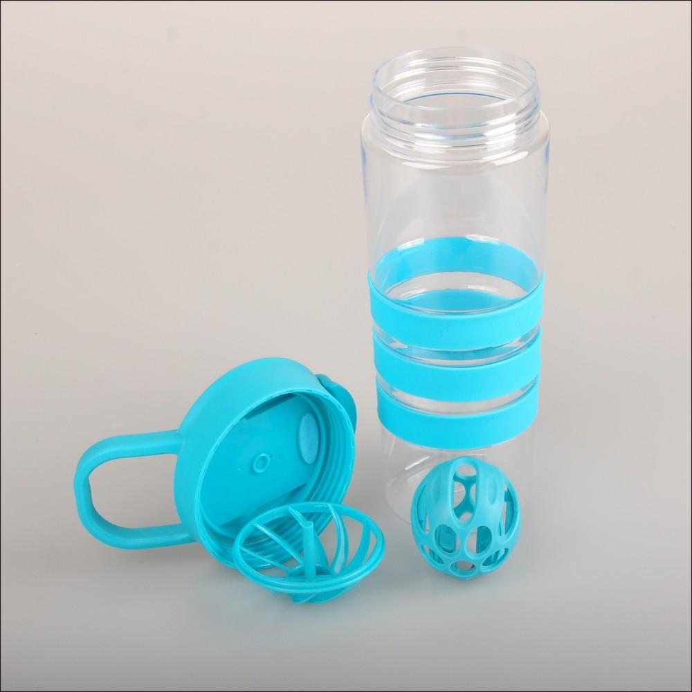 Protein Shaker Logo: Bpa Free Plastic Fitness Custom Logo Protein Shaker Bottle