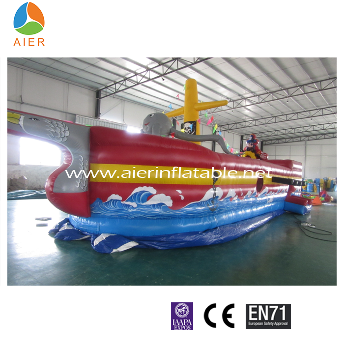 New pirate ship inflatable boat