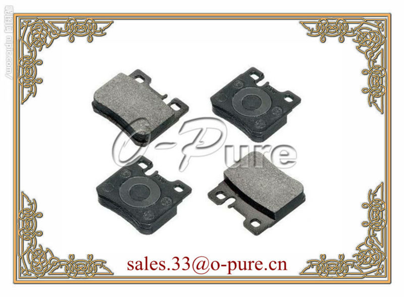MERCEDES car parts for C-CLASS W202 car accessory o-pure brake pad OE 001 420 02 20 good price hot seller large stock