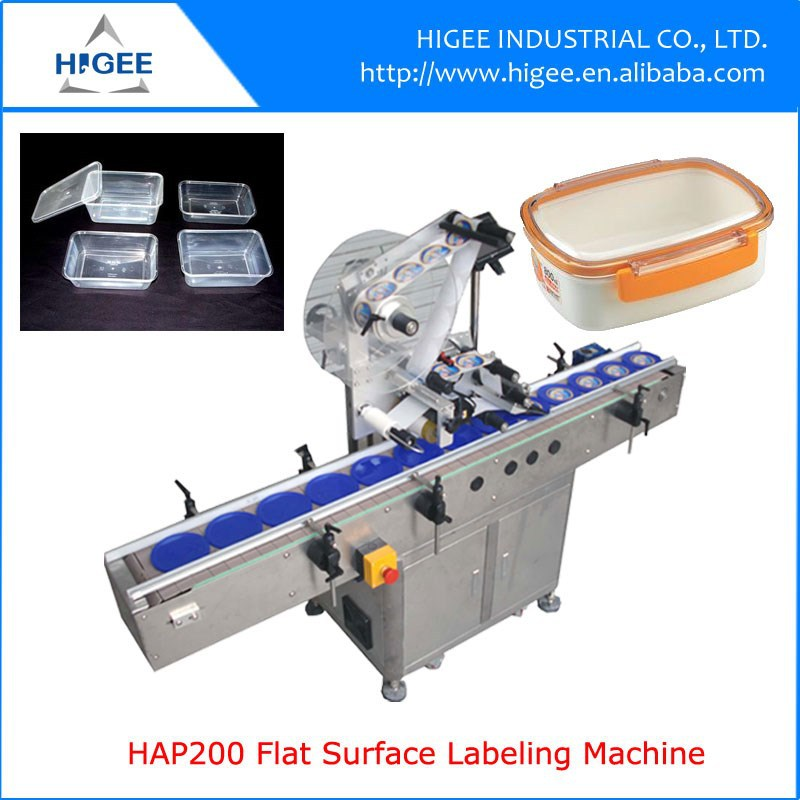 flat surface phone shell labeling machine