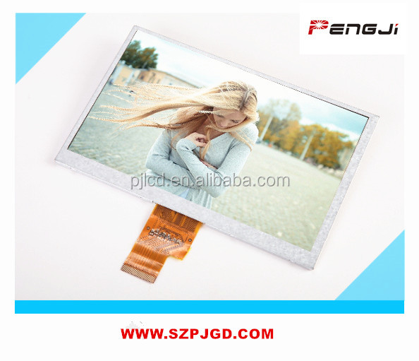 LVDS interface 1024*600 7 inch tft lcd touch panel for android tablet pc (PJT700P39H28-300P40N)