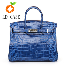 England fashion handbags crocodile design genuine leather women handbag