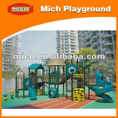 2013 Outdoor Playground Equipment kids large plastic playgrounds 37A