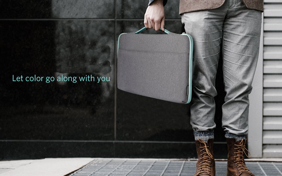 Multi-Functional Portable Felt Laptop Bag for business travel