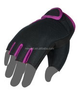 NEWSAIL Ladies design running gloves/3D Mesh fabric sporting gloves