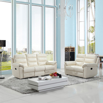 Modern leather sofa living room furniture 3+2+1 real leather recliner electric genuine Leather Sofa Set