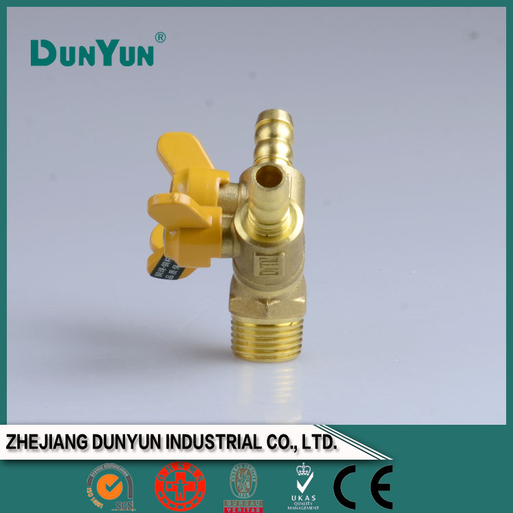 Natural gas valve for gas