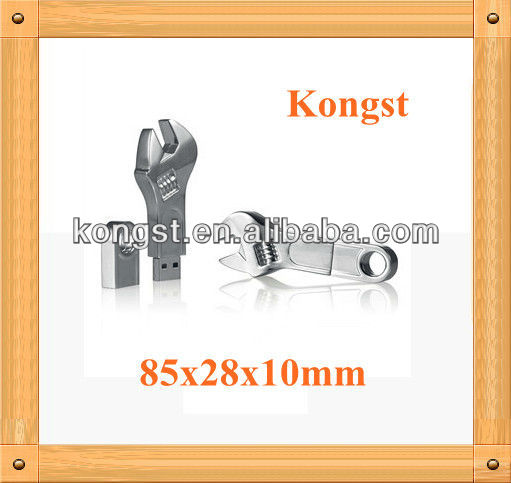 Wrench Shaped 8GB Metal USB