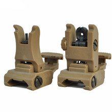 AR15 Rapid Tactical Front And Rear ar-15 grip Flip-up Back-up Sight Set ar 15 accessories