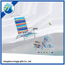 Custom Outdoor Aluminum Camping Folding Beach Chair