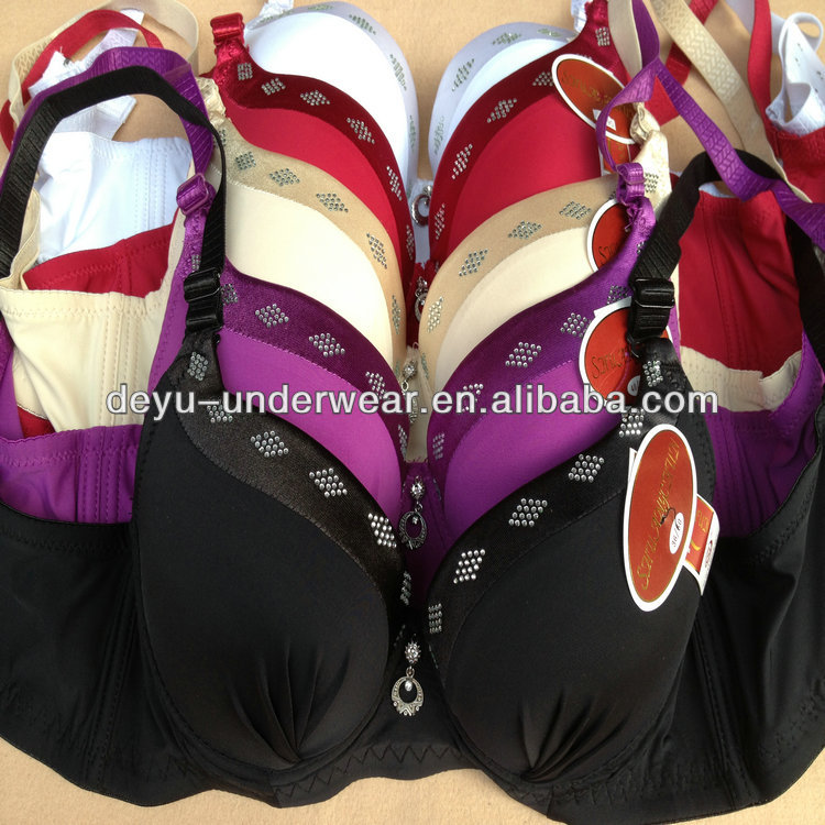 1.13USD Factory Quotation For High Quality Big Size Girls Bras Designed For Men/ Bra Price (gdwx253)