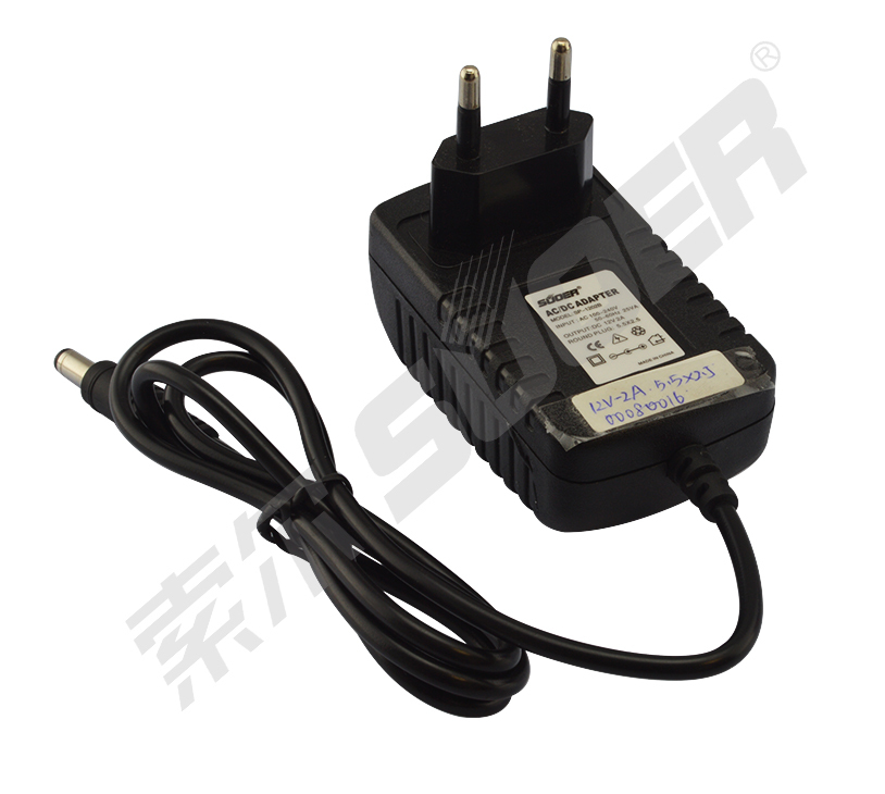Souer High quality universal AC DC power supply 12V 2A laptop power adapter