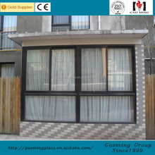Good sealing aluminum jalousie casement window frame