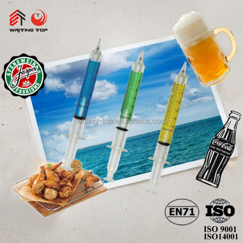 2014 Promotional Shape Ballpoint Pen injection Ballpoint Pencil