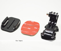 J-Hook Buckle Flat Mount with 3M sticker for Go Pro Heros camera