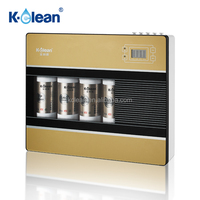Low waste water 400gpd quick change direct flow ro water purifier system