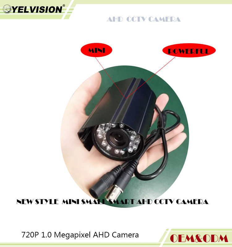 very small package 2 MP <strong>1080P</strong> high resolution mini powerful AHD Camera on promotion