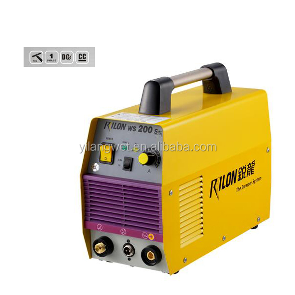 WS 200S Carbon/ low alloy/ stainless steel inverter dc tig 200 welding