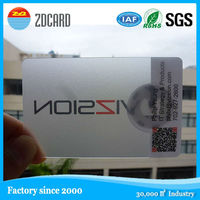 Classic RFID NFC NTAG203 business card
