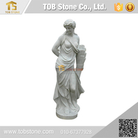 Welcome OEM order hand mande character carving stone statue