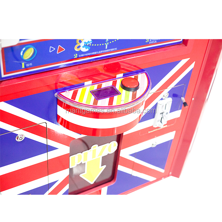 Cheap!!! Singapore coin games CE supplier mini vending toy catcher gift prized catch arcade game claw crane machine for sale
