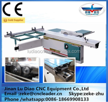 precision sliding table panel saw/wood saw cutting machine /band saw machine