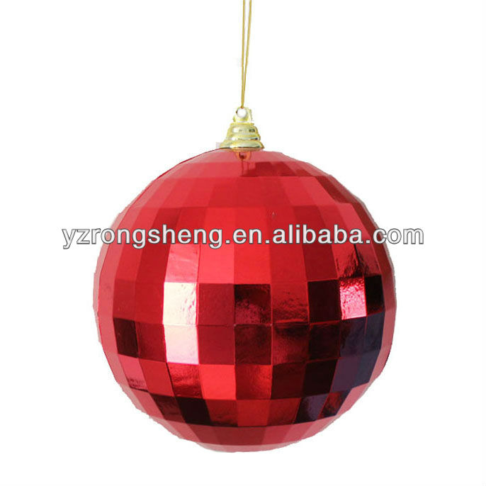 30cm plastic christmas mirror ball