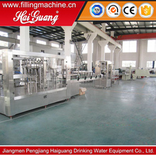 High quality and cheap price carbonated soda water bottling project/aerated water filling machine