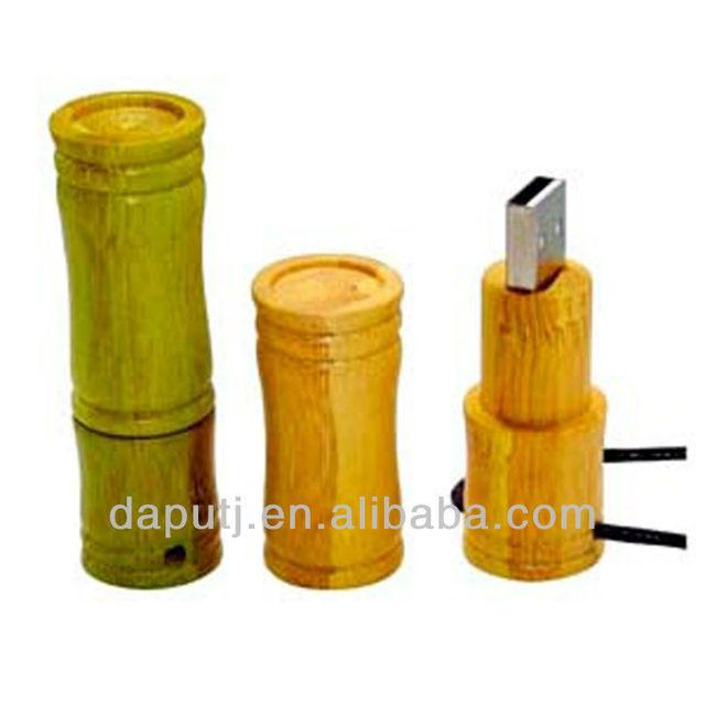 2013 HOT SELLING!! cheap promo 1gb bamboo wood usb flash drive