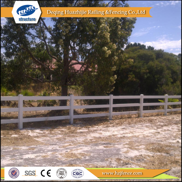 clear used vinyl fence ranch