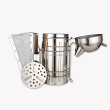 Beekeeping equipment stainless steel leather bee smoker for sale