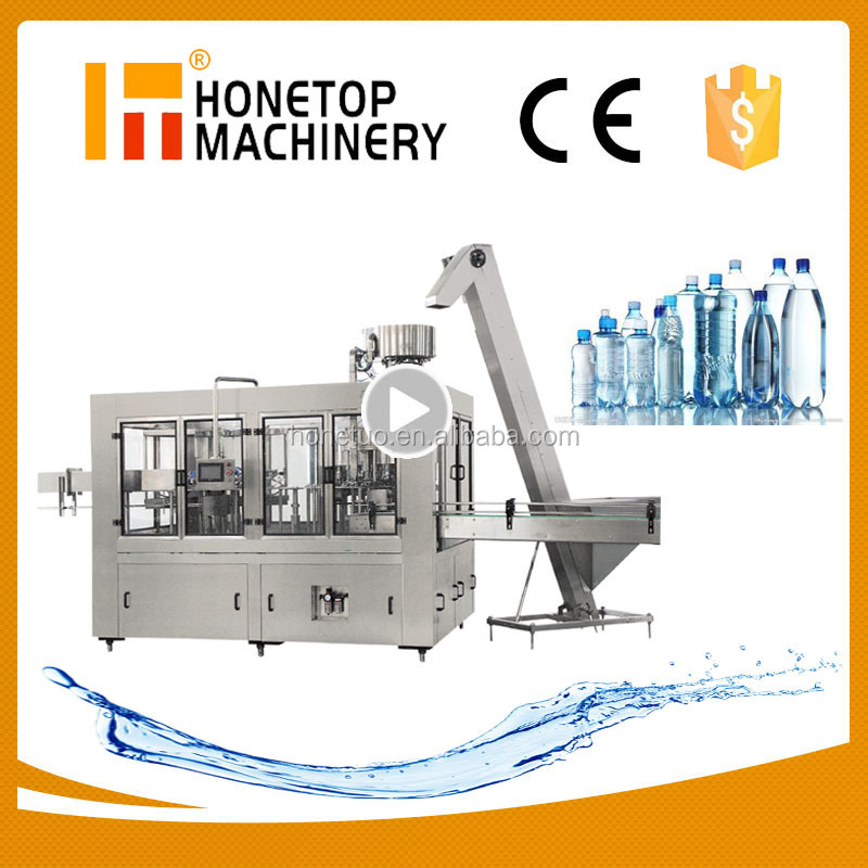 High speed Filling Capping and labelling machine