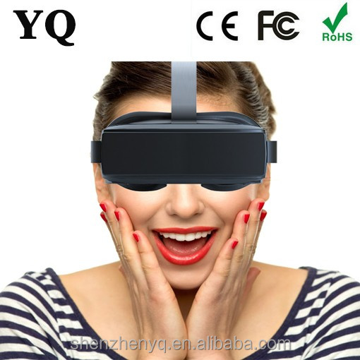 HMD-518 hot selling cardboard 3d vr glasses gaming glasses Support 3D Movie/Games/Video