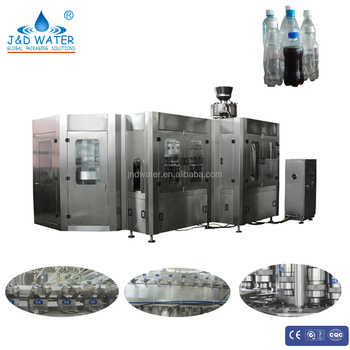 380V Bottle Carbonated Beverage Washing Filling Capping Machine